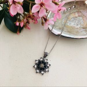 Harmony Collection Star Burst Necklace